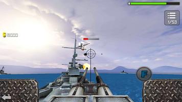 Screenshot of Sea Battle 3D