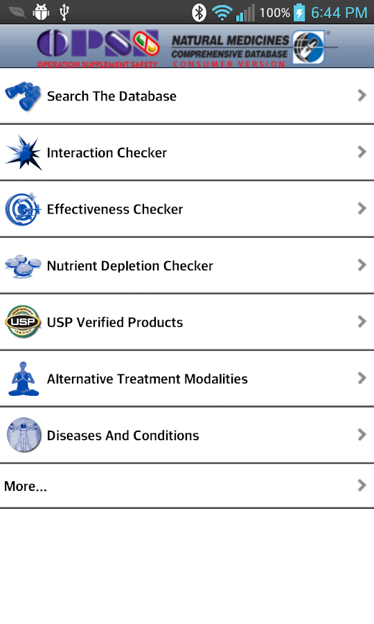 Op. Supplement Safety - OPSS - screenshot