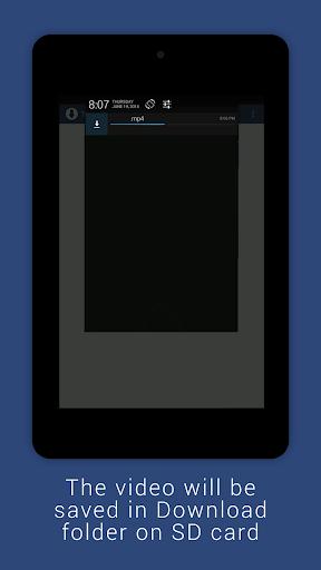 Video Downloader for Facebook 1.0.4 screenshots 4