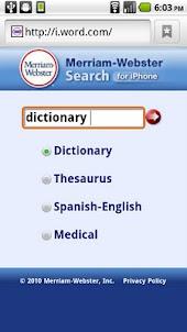 Web Dictionaries