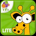 Animals Sliding Puzzle Lite icon