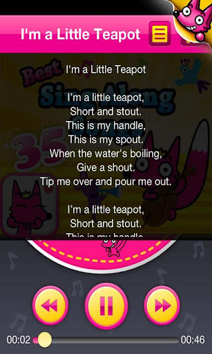 35 Sing Along Songs screenshot