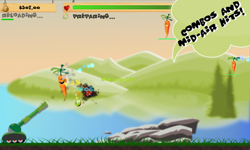 Invasion of the Veggies- screenshot thumbnail
