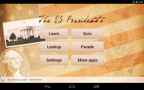 U.S. Presidents - screenshot thumbnail