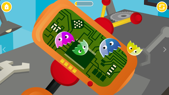 Secret Robot Lab - Kids Game- screenshot thumbnail