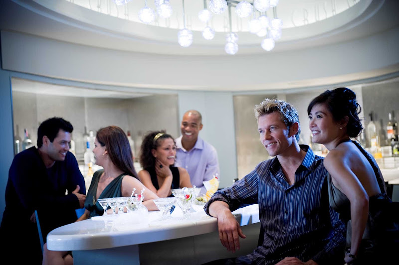 Party with friends new and old or find a new crush in Celebrity Solstice's Crush bar.