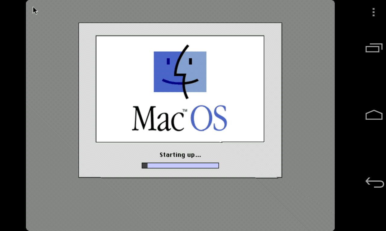 Mini vMac II - screenshot