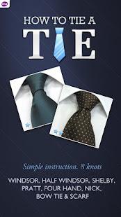 Tie a Tie 2