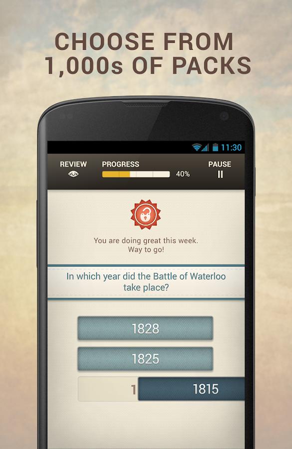 UnlockYourBrain: Learn Smarter - screenshot