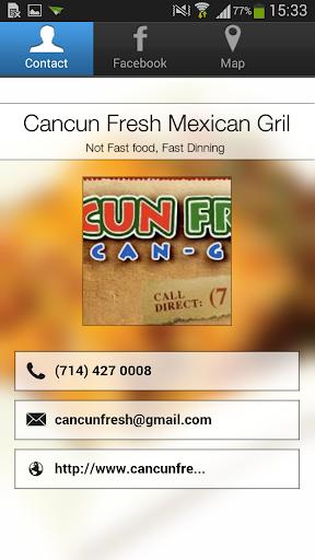 Cancun Fresh Mexican Gril