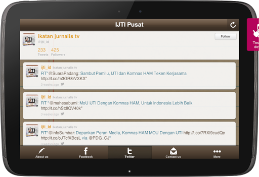 【免費通訊App】Ikatan Jurnalis TV Indonesia-APP點子