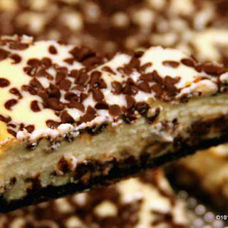 Easy Chocolate Chip Cheesecake