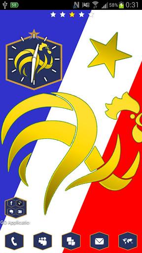 Go Launcher theme France
