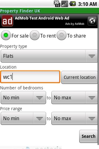 Property Finder UK- screenshot