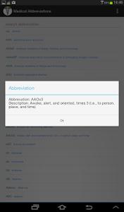 Medical Abbreviations v1.2.2