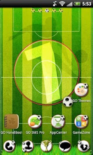GO Launcher EX Football Theme - screenshot thumbnail