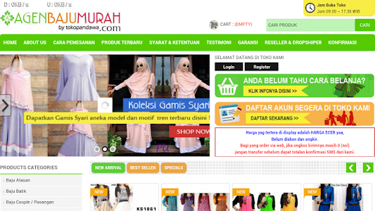 Agen Baju Murah screenshot 4