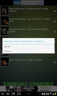 Telugu Songs HD - screenshot thumbnail