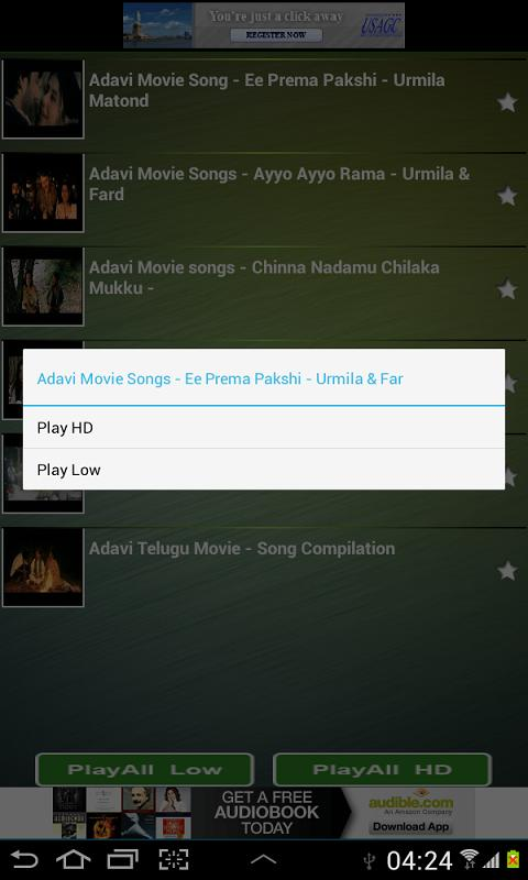 Telugu Songs HD - screenshot