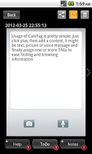 CuteTag- screenshot thumbnail