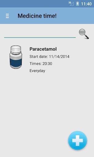 Medicine time No ad