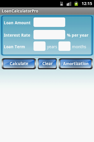 Loan Calculator Pro- screenshot
