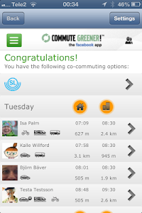Commute Greener – smarter ways screenshot 3