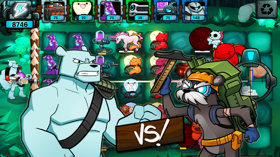 BEARS vs ZOMBIES - TD Defense - screenshot thumbnail