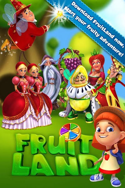 Fruit Land – match3 adventure v1.63.0 (Mod)