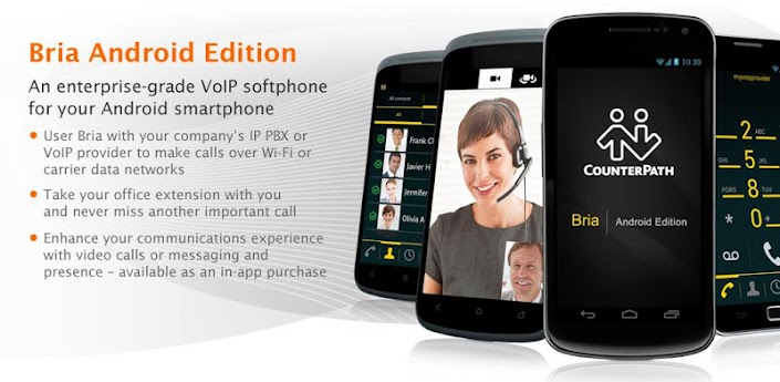 Bria Android - VoIP Softphone