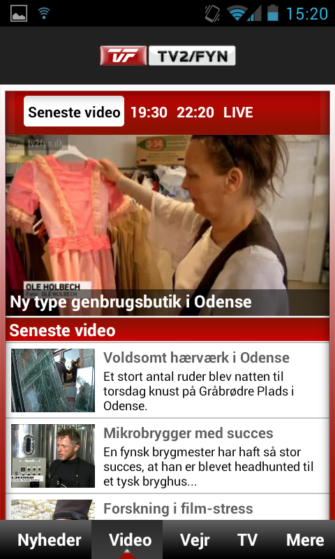 TV 2/FYN - screenshot