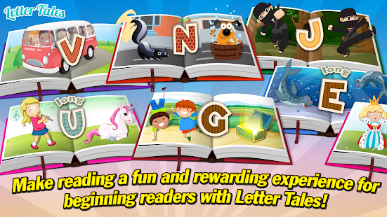 Letter Tales - Learn to Read- screenshot thumbnail