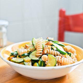 Zucchini Pasta with Almonds and Lemon Zest