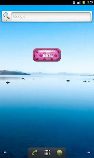 粉紅色的明星電池