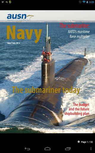【免費新聞App】Navy Magazine-APP點子