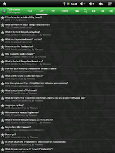 Talkstarter: Conversations- screenshot thumbnail