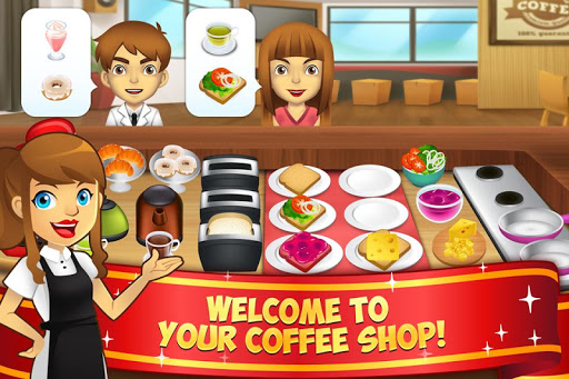 My Coffee Shop - Coffeehouse Management Game 1.0.25 screenshots 1