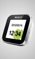 Screenshot of Simple Watch Widget