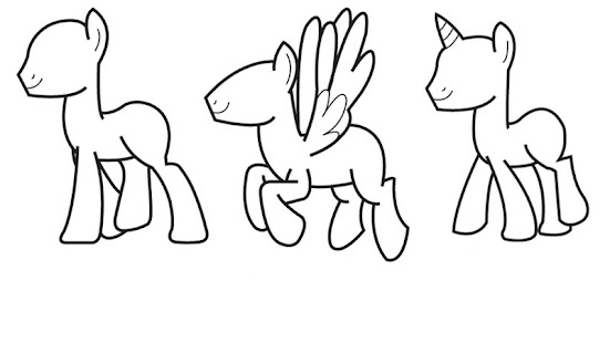 How to Draw Little Pony