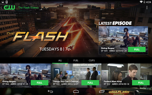 The CW - screenshot thumbnail