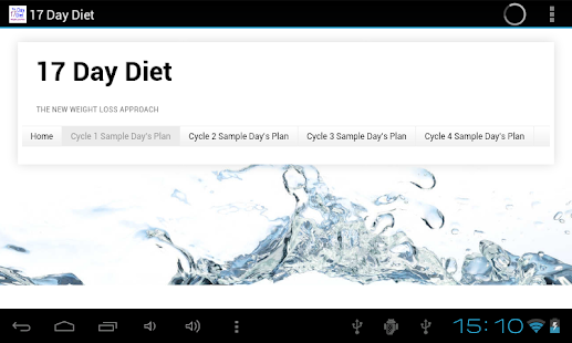 17 Day Diet- screenshot thumbnail