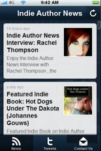 IndieAuthorNews - screenshot thumbnail