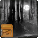 misty forest at night LWP icon