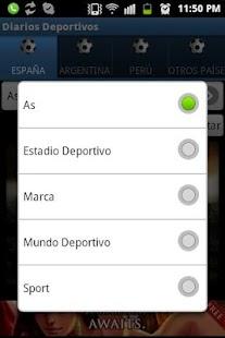 Diarios Deportivos- screenshot thumbnail