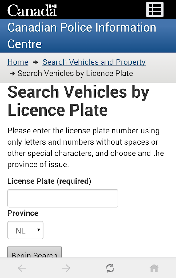 How to check for stolen vehicle by vin lookup