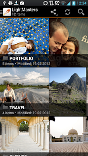 myZenfolio - screenshot thumbnail