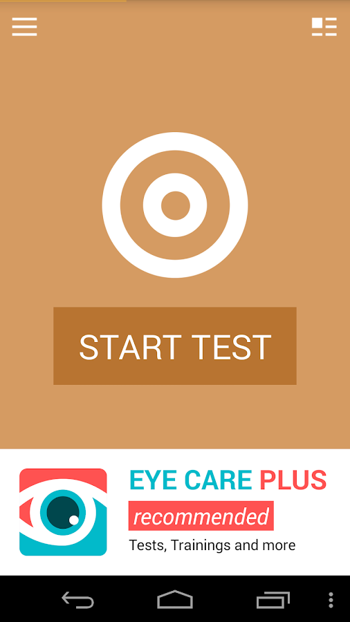 Astigmatism Test- screenshot
