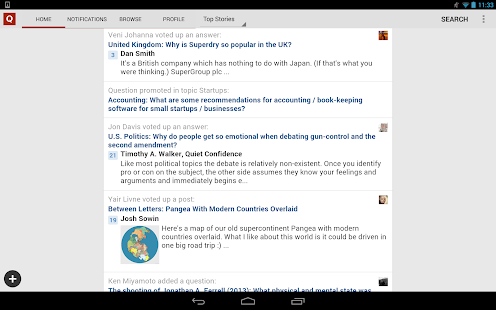 Quora - screenshot thumbnail