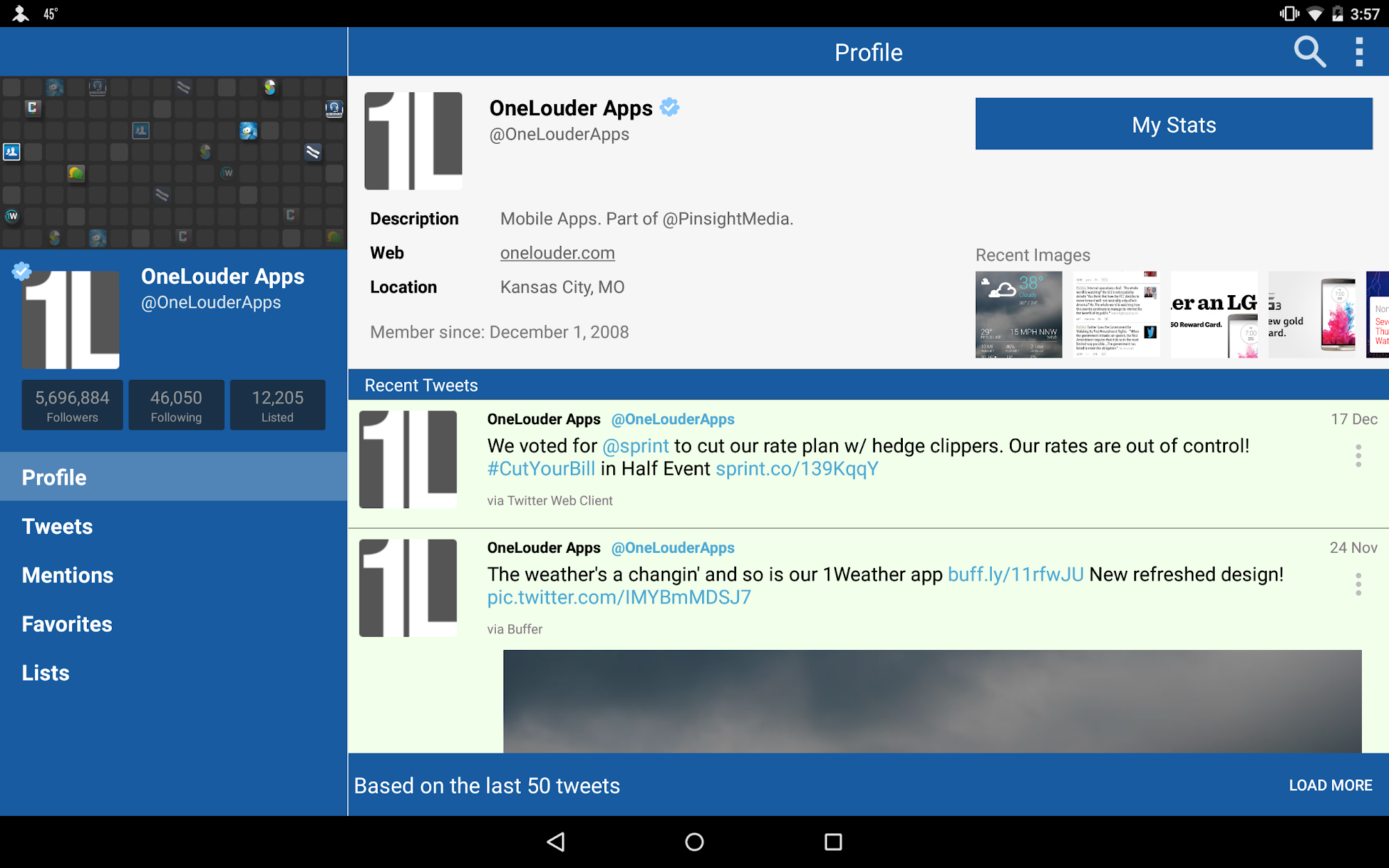 TweetCaster for Twitter screenshot #11