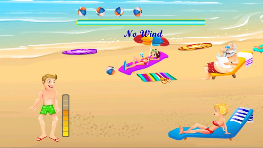 Beach Ball Toss - screenshot